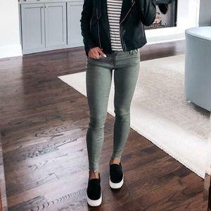 AE Light Green Skinny Jeans